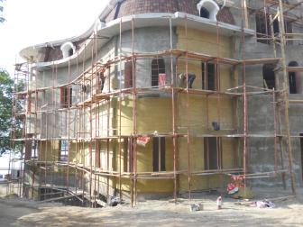 Декоративное покрытие фасадов по штукатурке